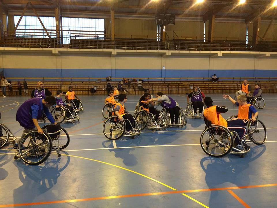 Grand succès au gymnase Picot à Montgeron pour cette journée de sensibilisation aux handicaps.
