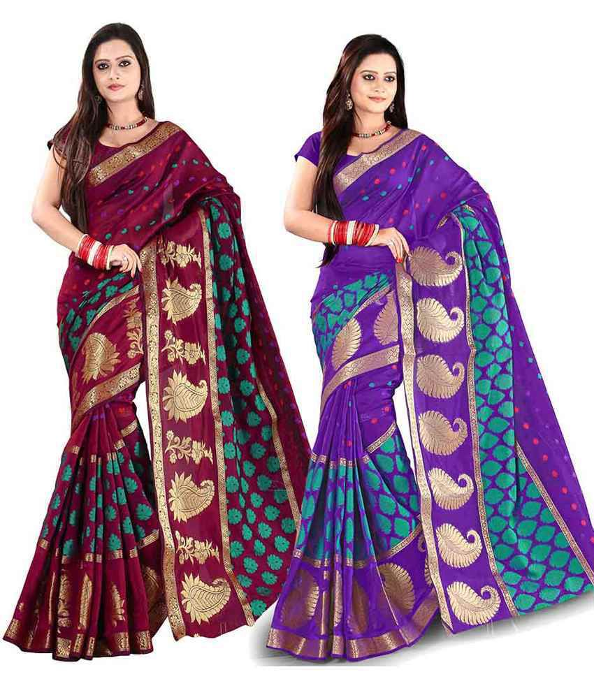 c5c046c33 http    Buy Aisha Multi Color Georgette Sarees Unstitch Blouse Piece - Pack  Of 5 from Snapdeal
