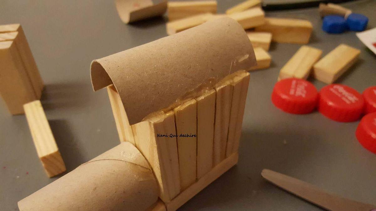 DIY &quot&#x3B;un joli train en bois&quot&#x3B; + tuto