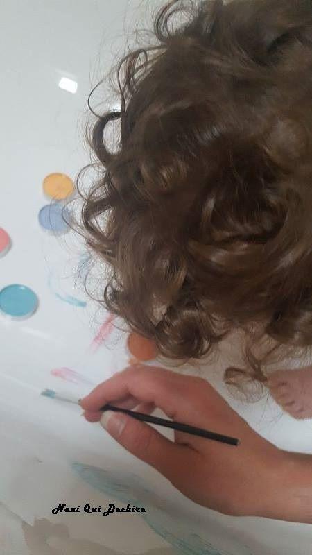 DIY peinture pour le bain maison - Activité enfants
