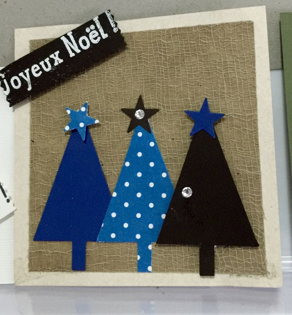 Cartes simple pour Noël...