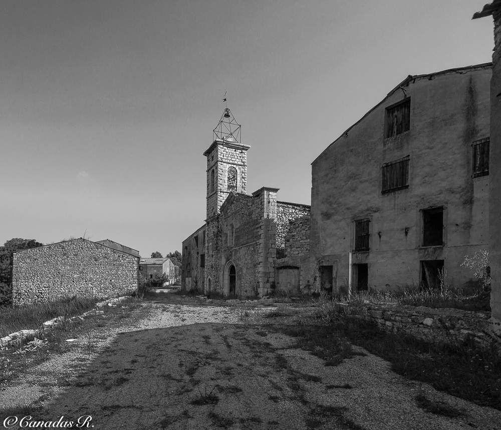 Le village fantôme.