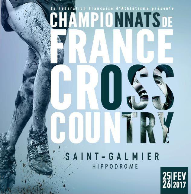Championnats de France de cross à St Galmier