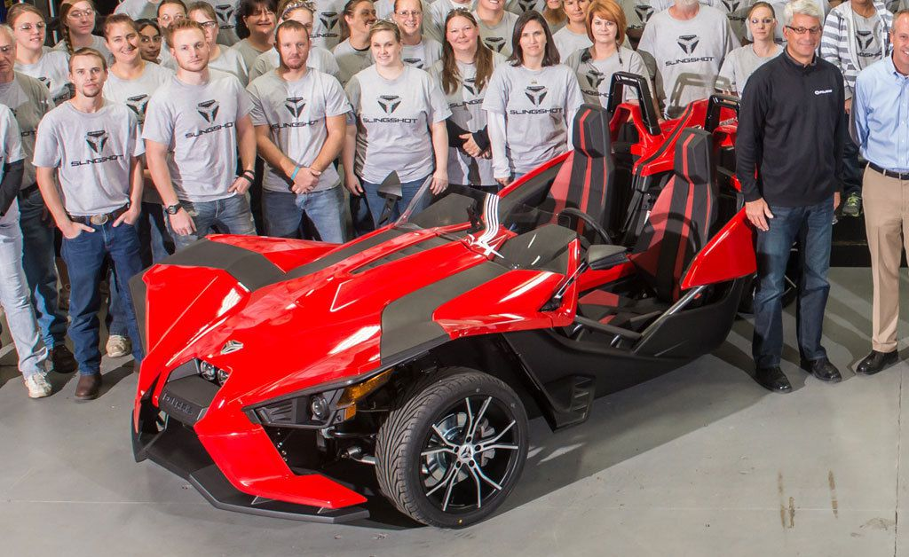 Staff Polaris Slingshot
