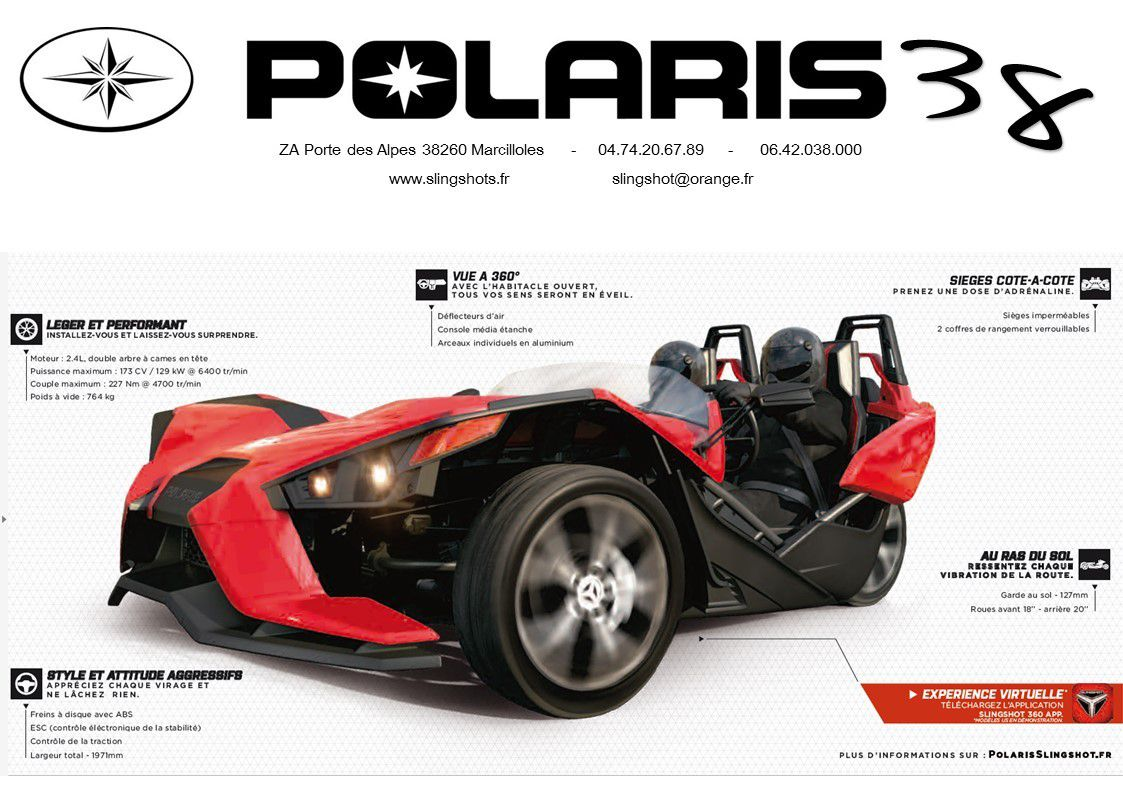 Brochure Slingshot Polaris