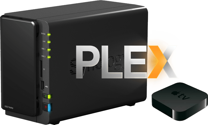 installation de plex sur Apple TV