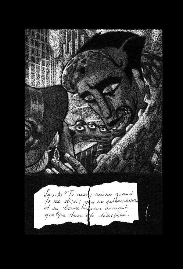 """Extrait de """"Chimène"""", nouvelle graphique par Émile Fitz"""