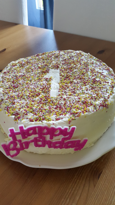 Gâteaux d'anniversaire de ma petite princesse