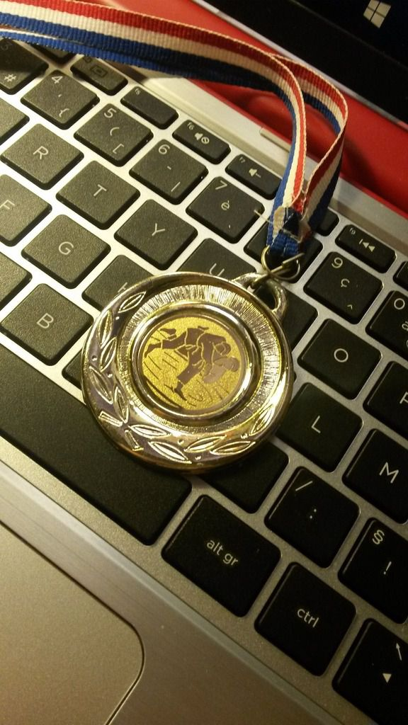 I thought I would share one of my greatest memories, my very first gold medal that I won when I was 11.