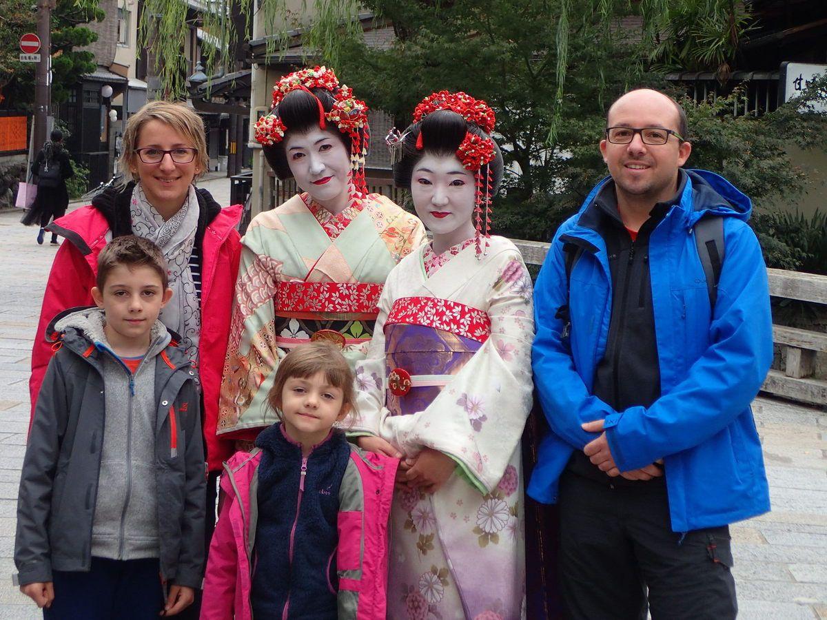 A la rencontre des Geishas