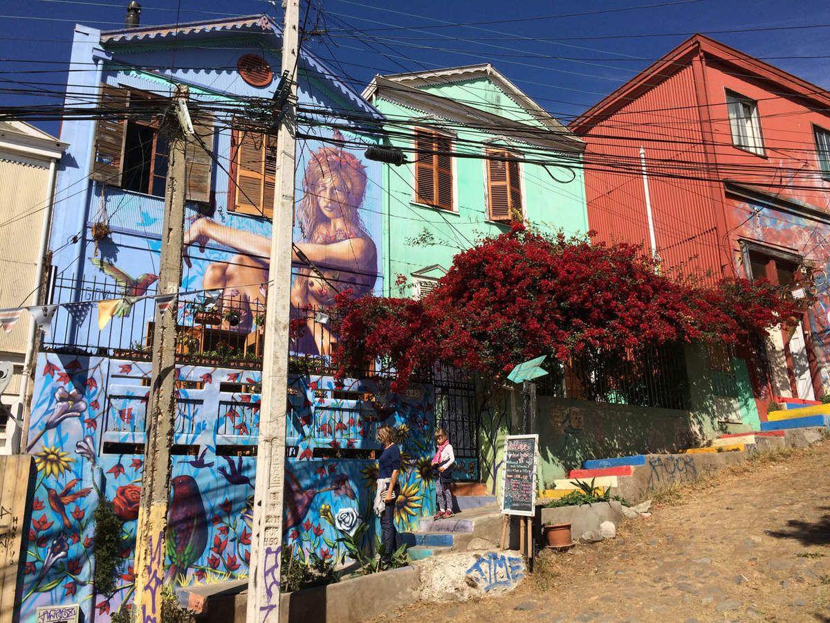 Le Chili, Santiago et Valparaiso