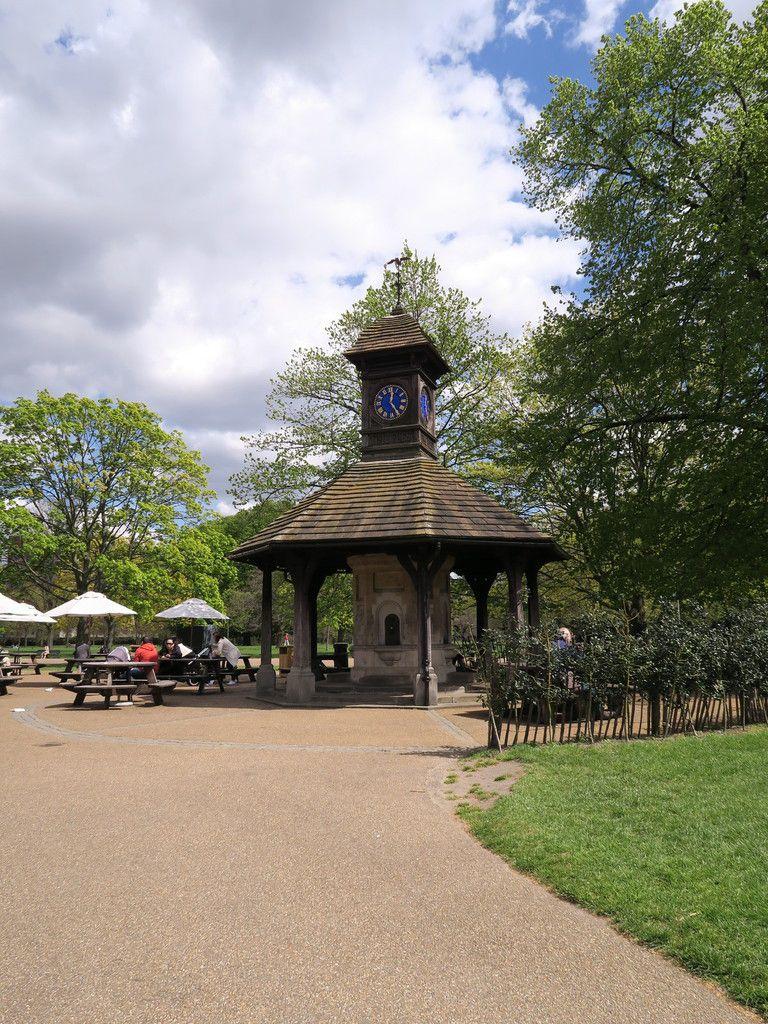 Kensington Gardens et ses tulipes