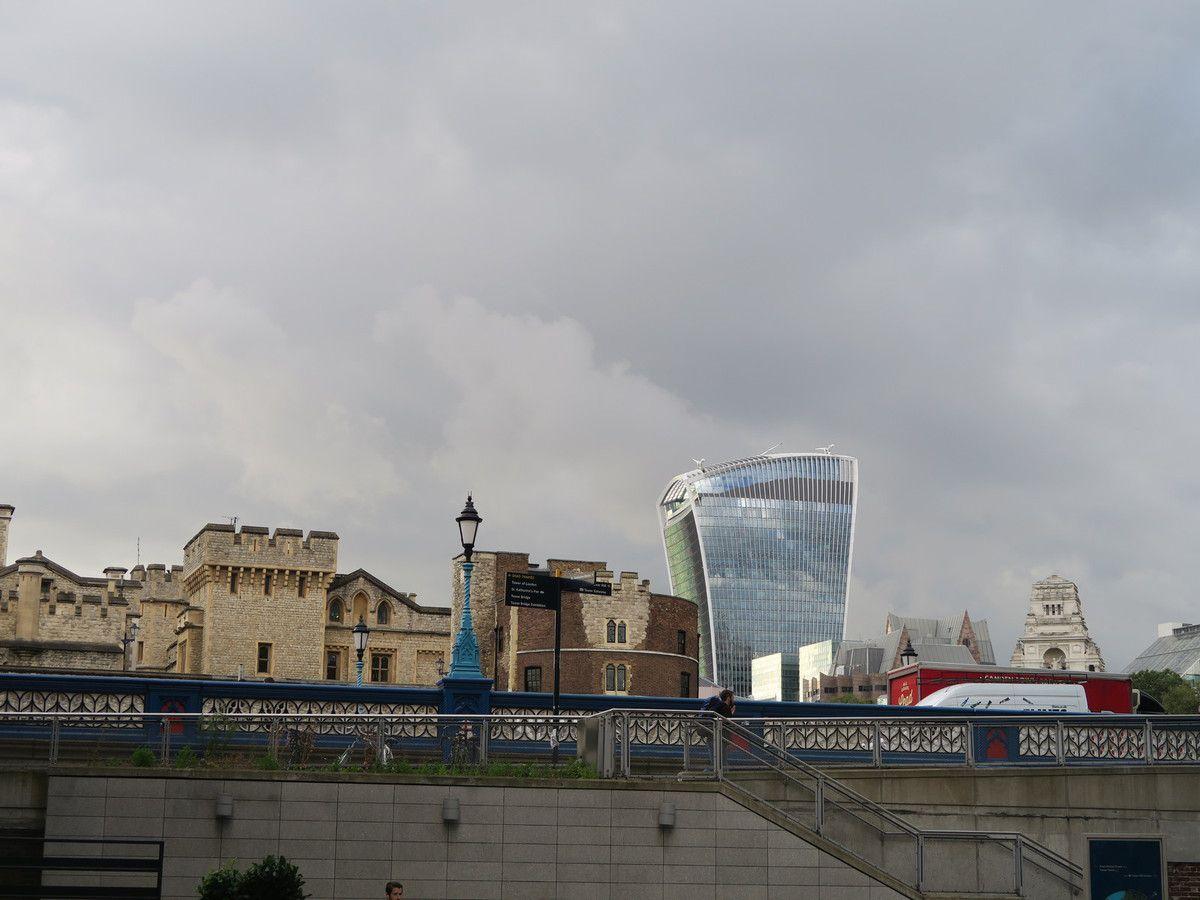 Sky Garden : une belle vue de Londres