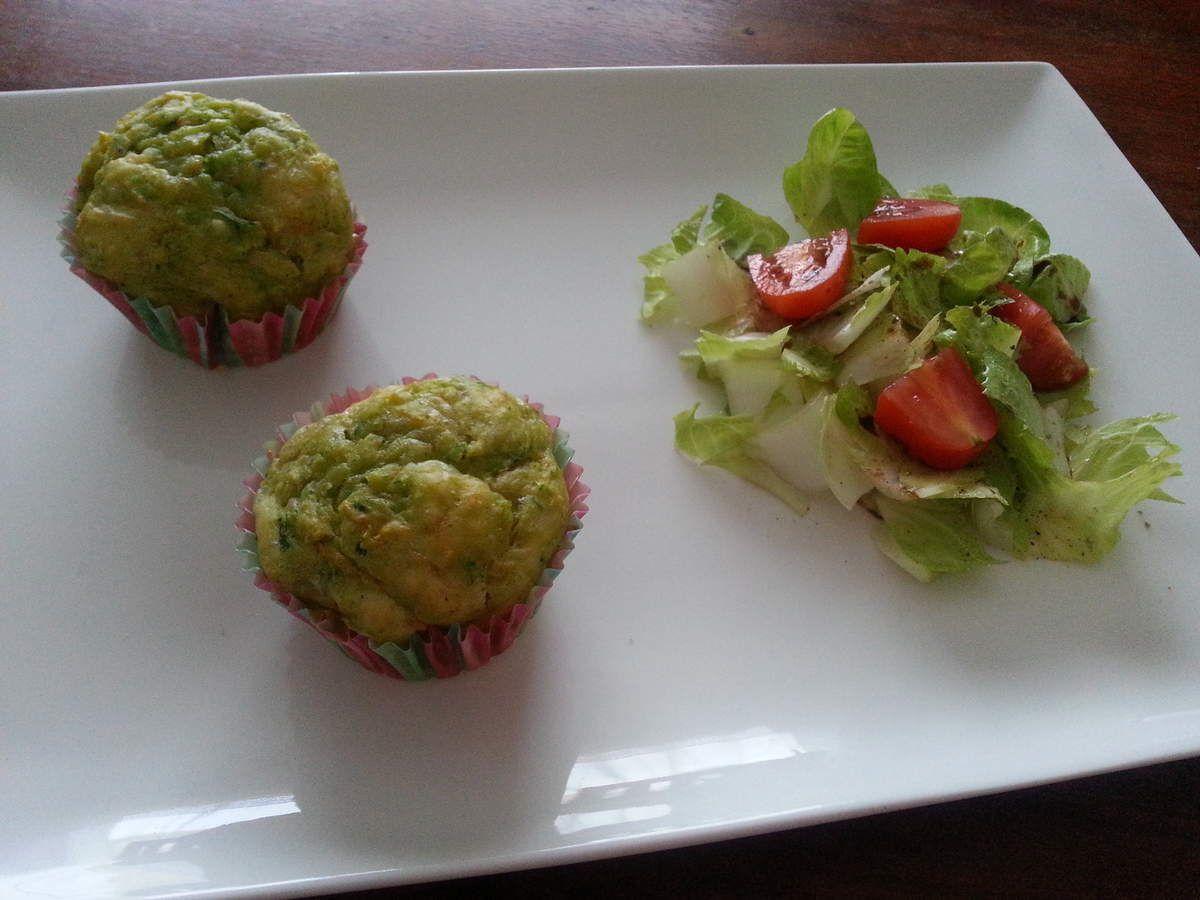 Muffins salés aux légumes
