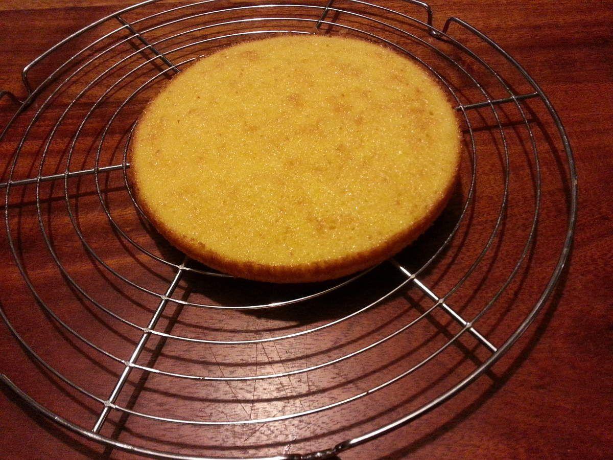 génoise pour le gâteau halloween
