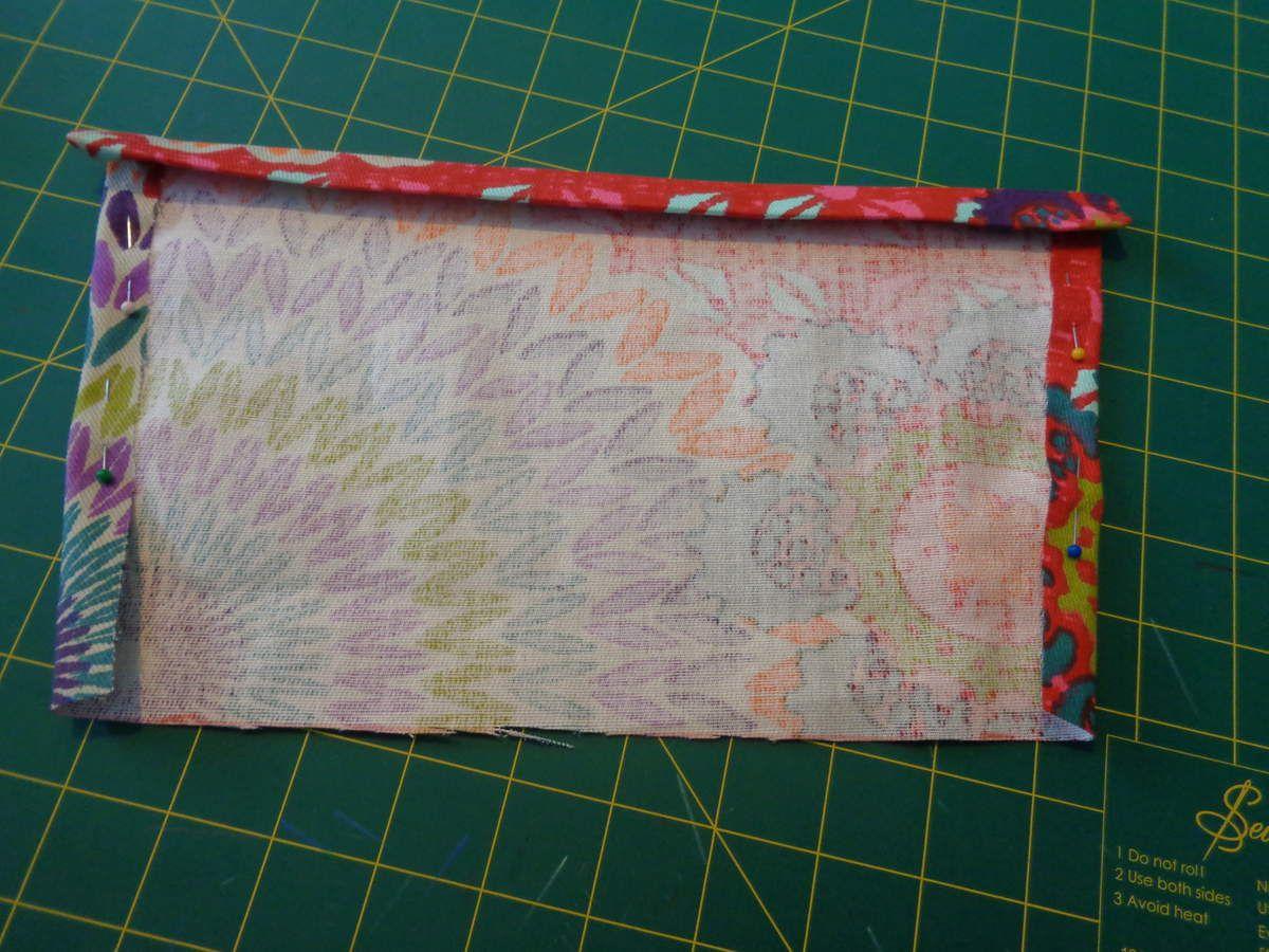 TUTO : Sac à main trapèze coloré printemps/été