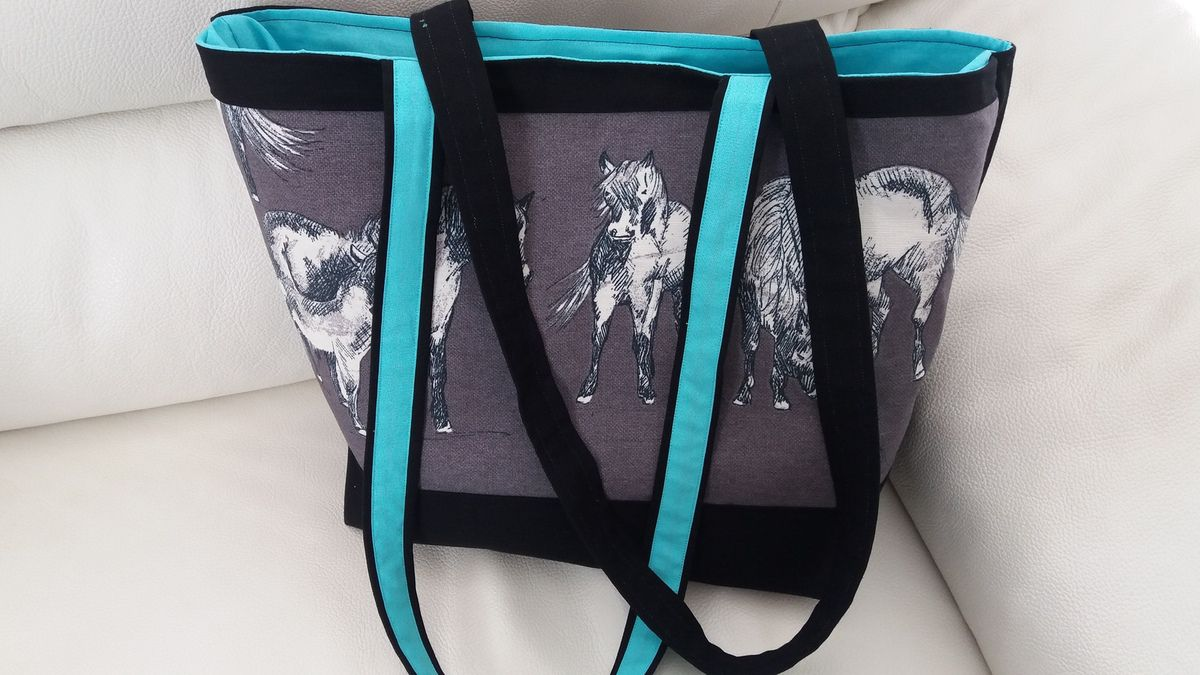 DIY sac cabas passion chevaux
