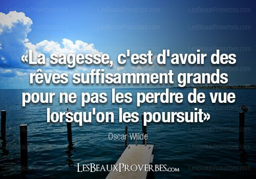 CITATION DU JOUR / OSCAR WILDE