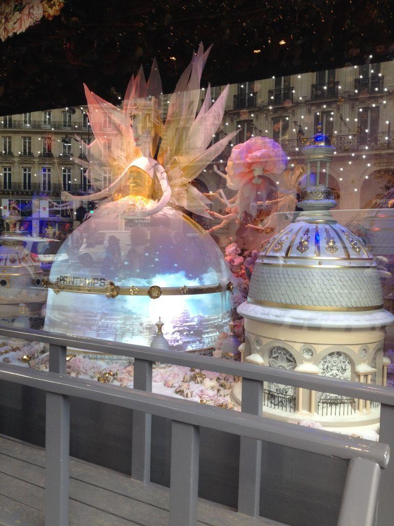 Noël aux galeries lafayette et star wars