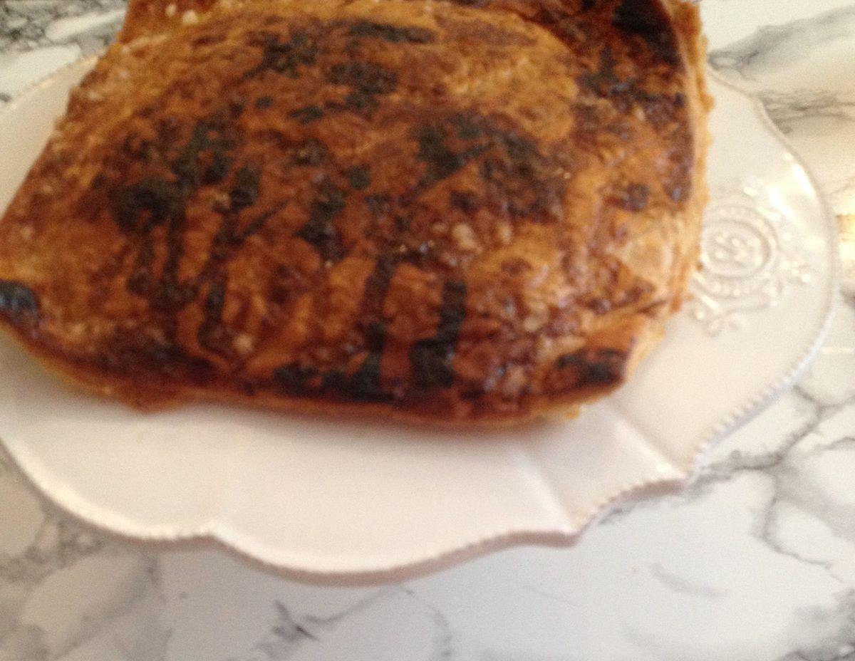 Dans mon assiette : galette au citron de Picard