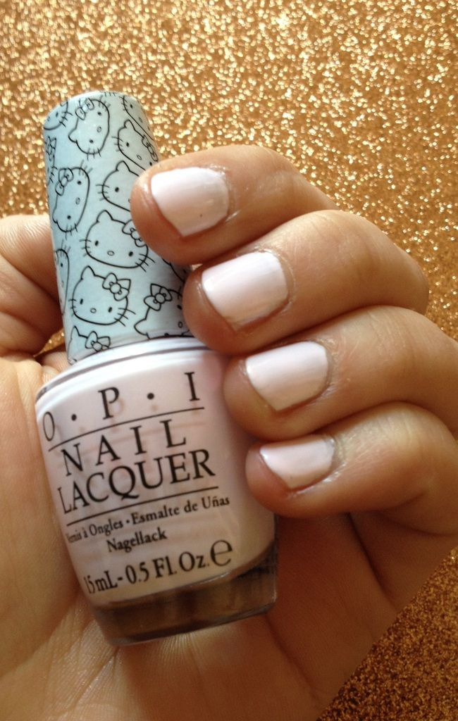 Let's be friends OPI HelloKitty
