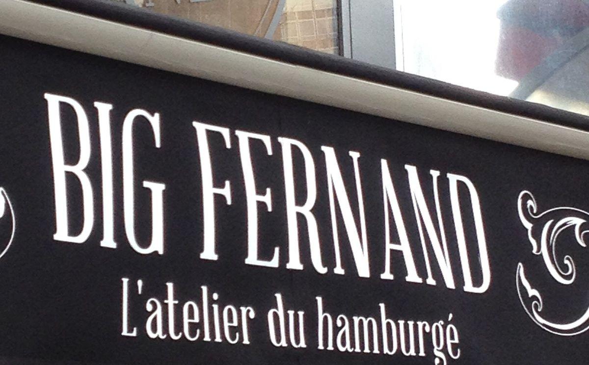 Big Fernand à La Défense / bonnes adresses#4