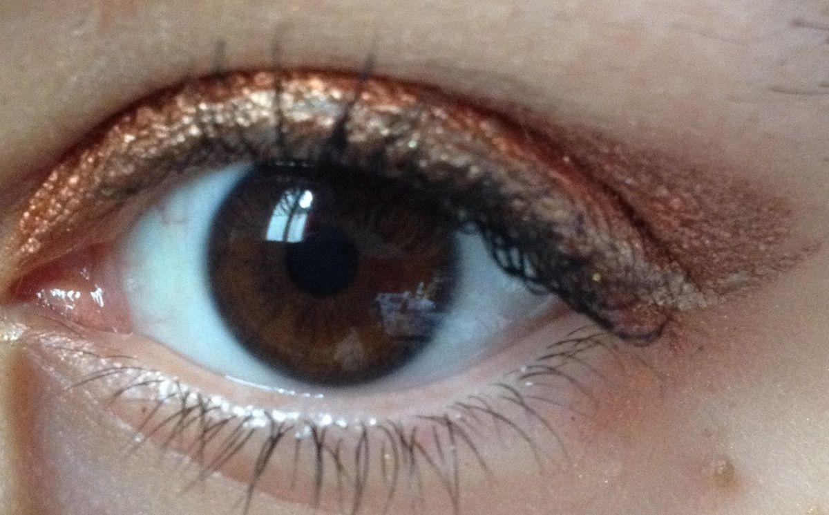 Makeup bronze (Palette Sandréa et Etam makeup)