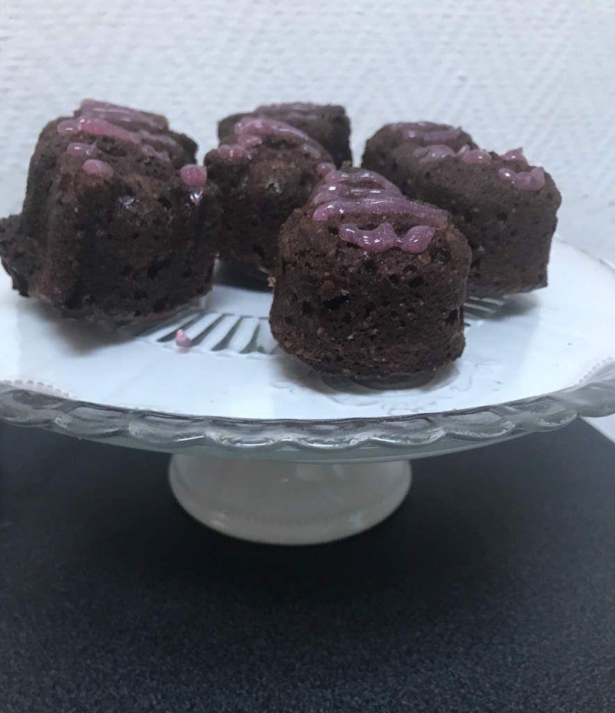 Gâteau au chocolat sans culpabilité (même si l été est finie enfin il paraît) à 4 mains (Maman-Bébé)