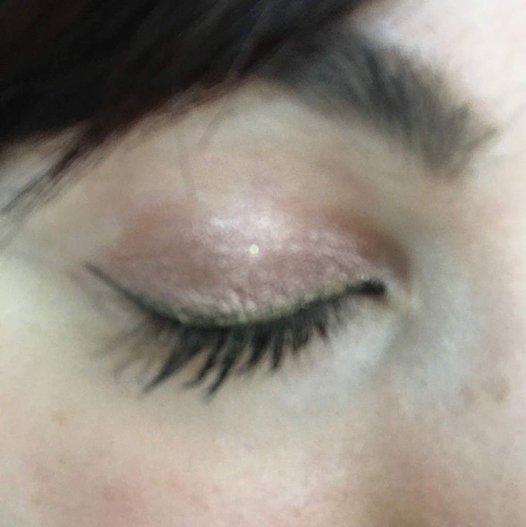 Monday shadow challenge : rose gold