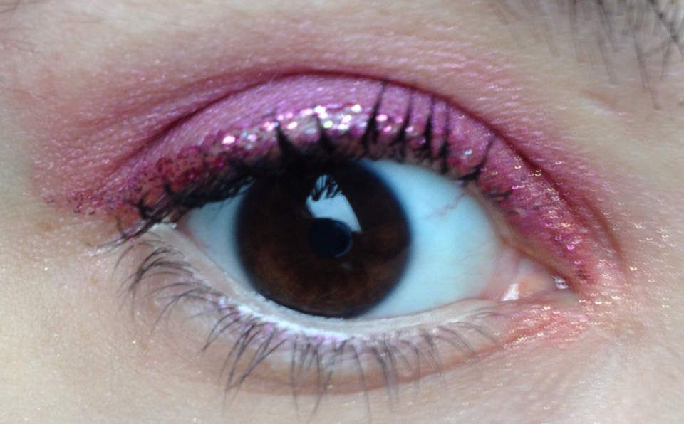 Monday Shadow challenge : fushia