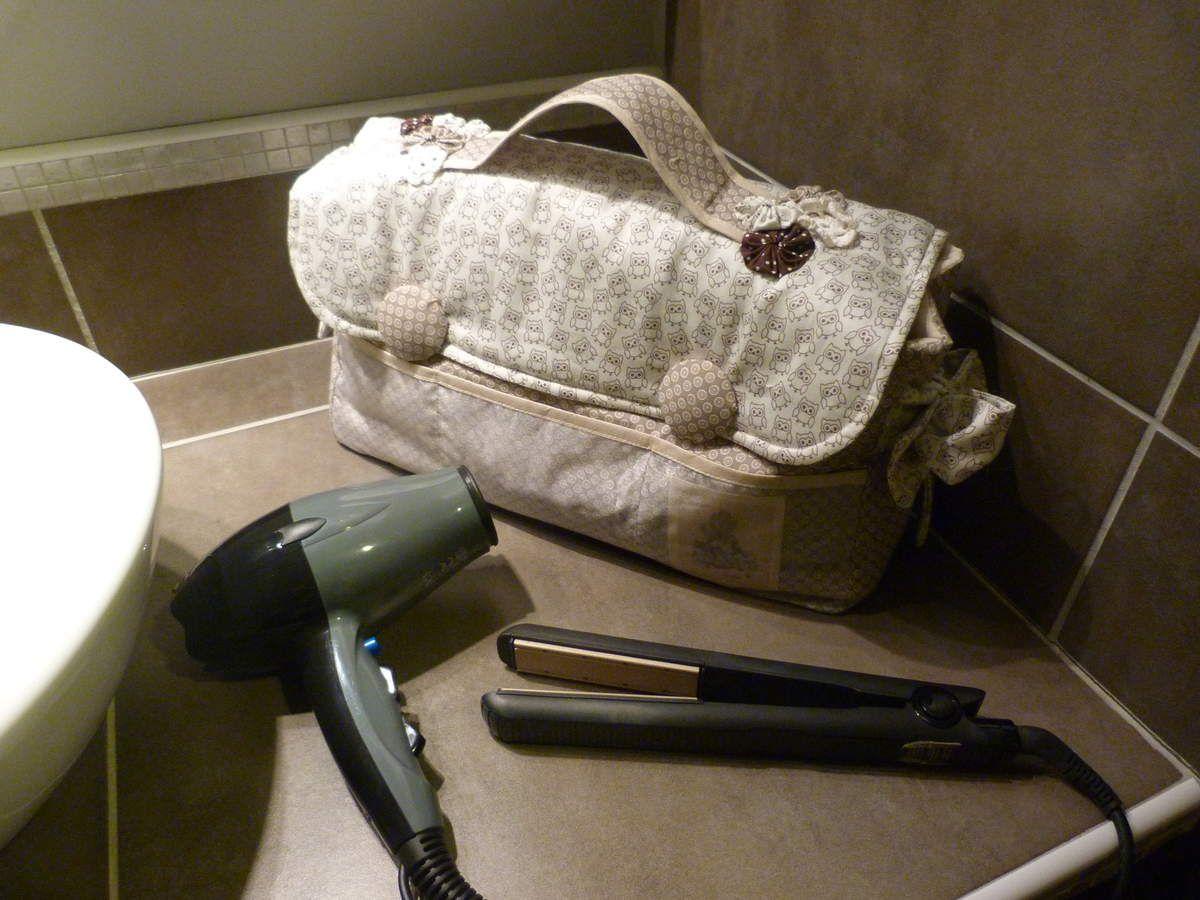 Tapis Salle De Bain Alinea ~ valise porte accessoires fait main par nat