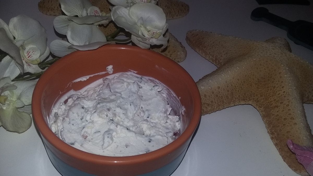 Fromage blanc ail et fines herbes