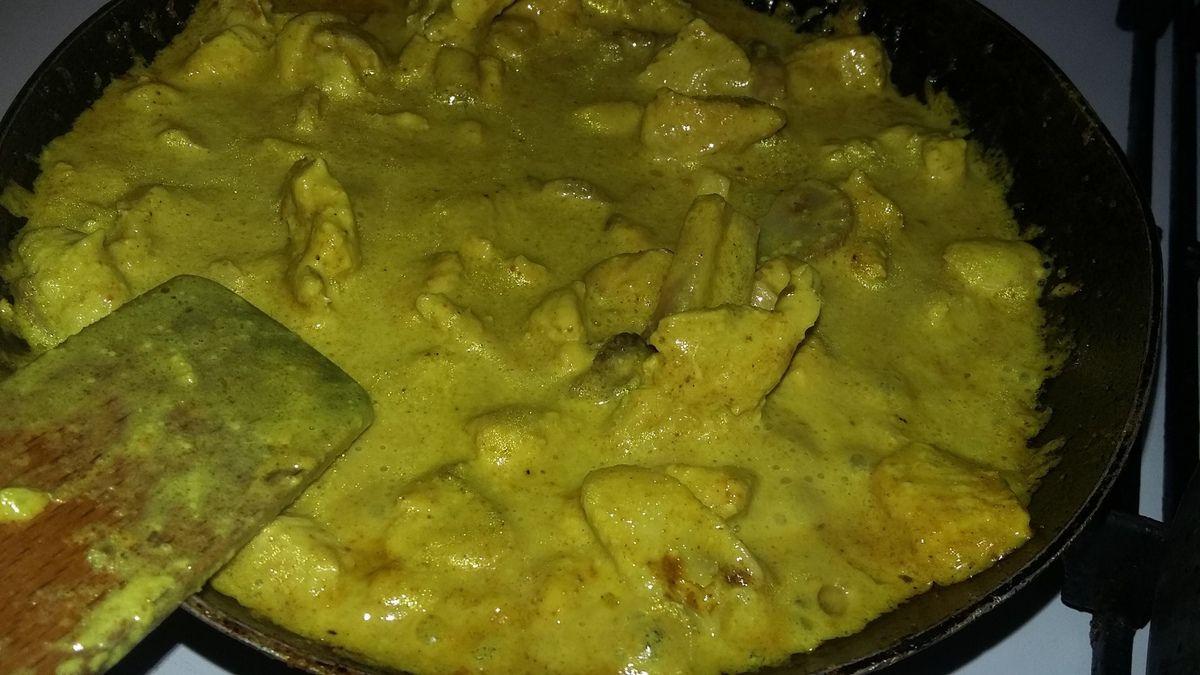 Wrap a la dinde au curry