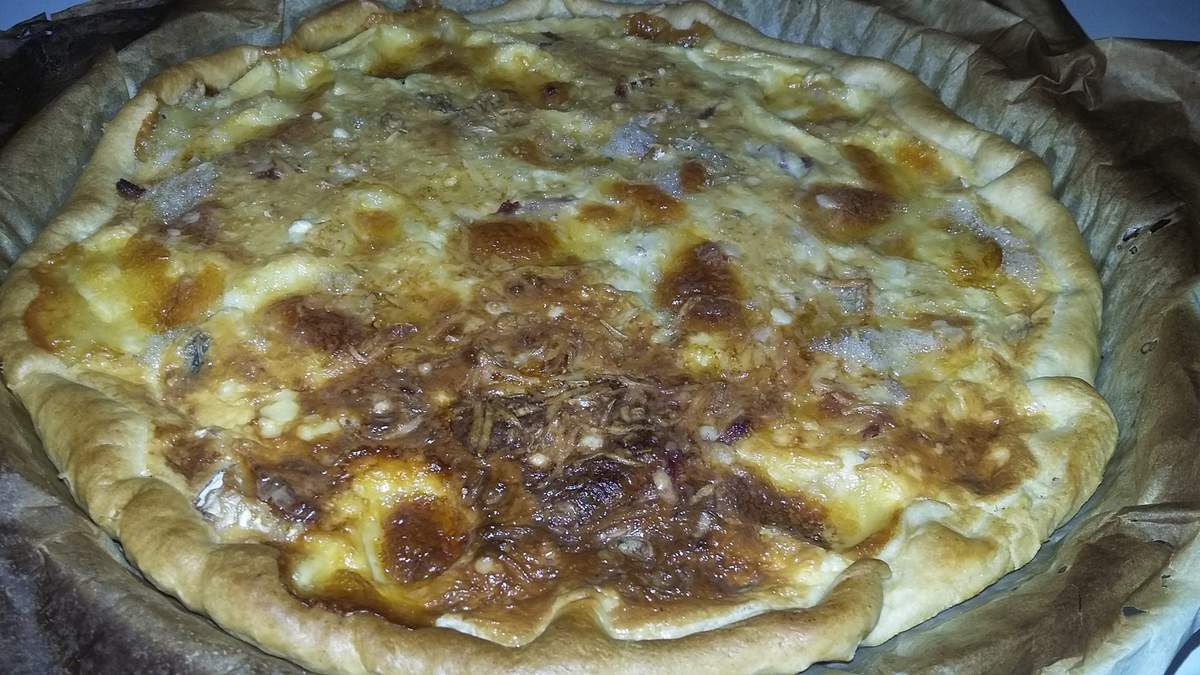 Quiche jambon 3 fromages