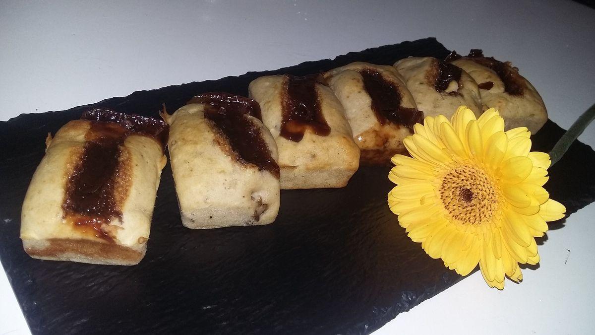 Minis cakes aux carambar