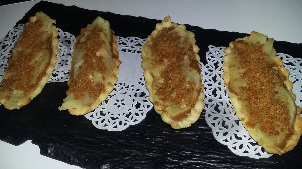 Tartelettes pommes spéculoos