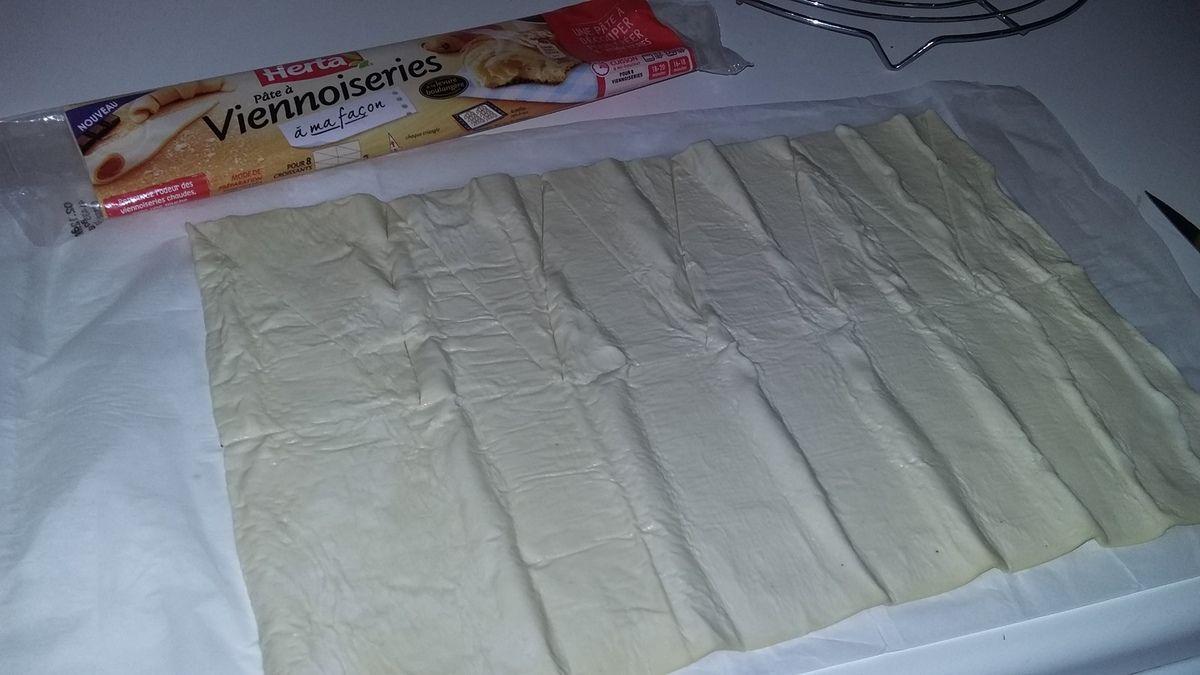 Minis croissants au Nutella amande