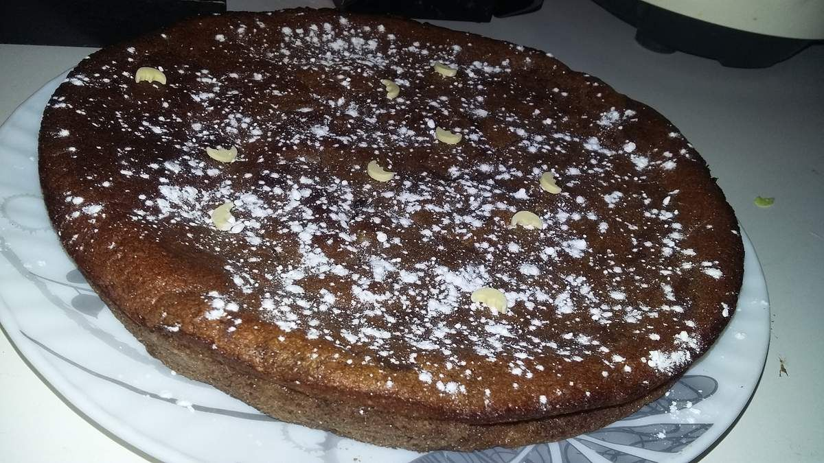 Gâteau au chocolat et a la ricotta
