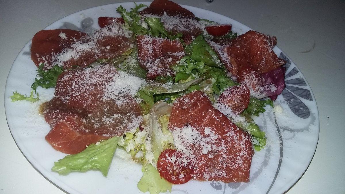 Salade carpaccio