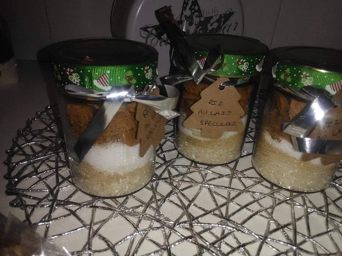 Kit riz au lait au speculoos cadeau a offrir
