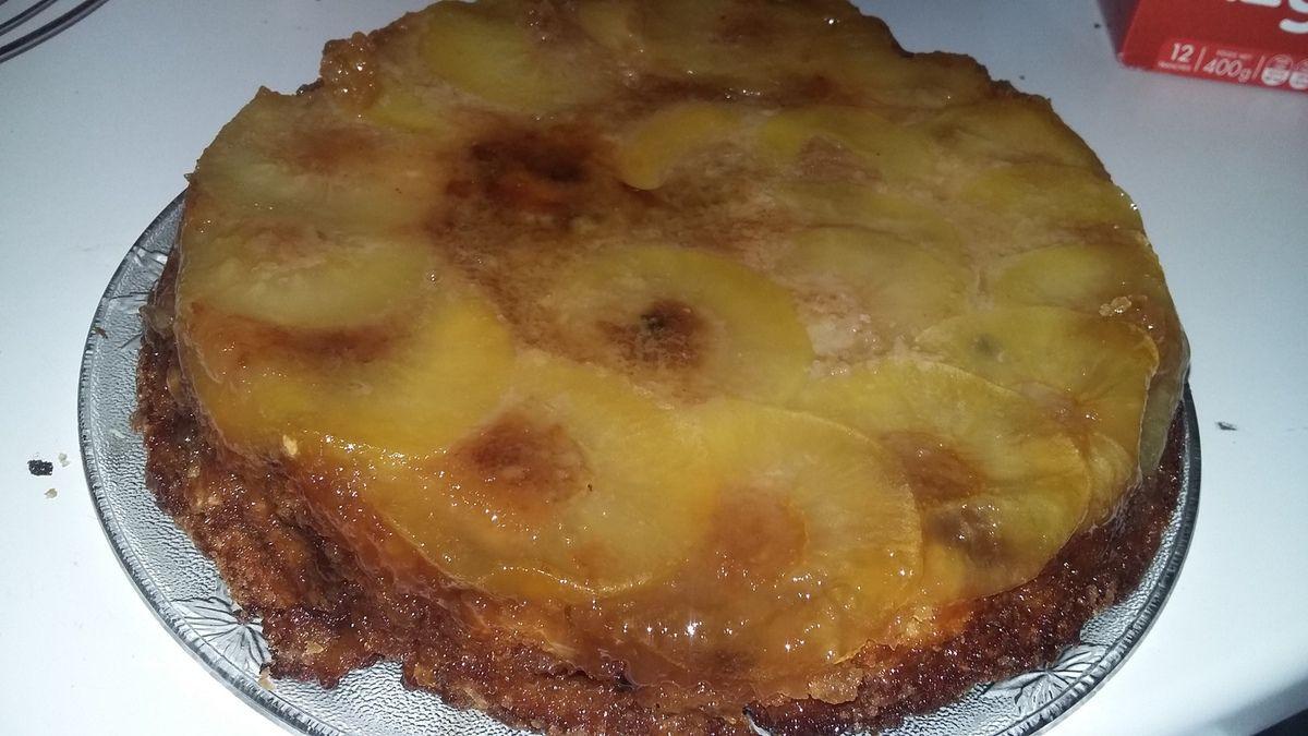 Gâteau renversé au pommes