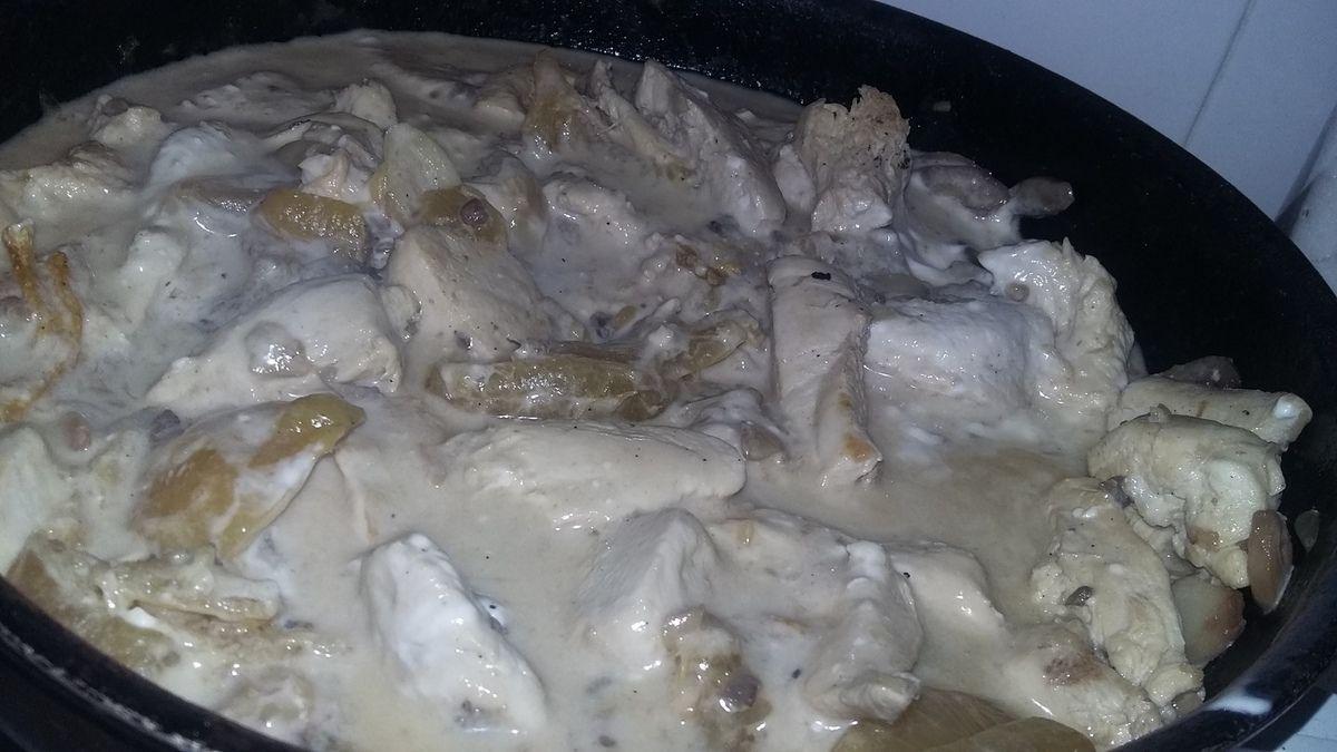 Blancs de poulet a la crème au citron