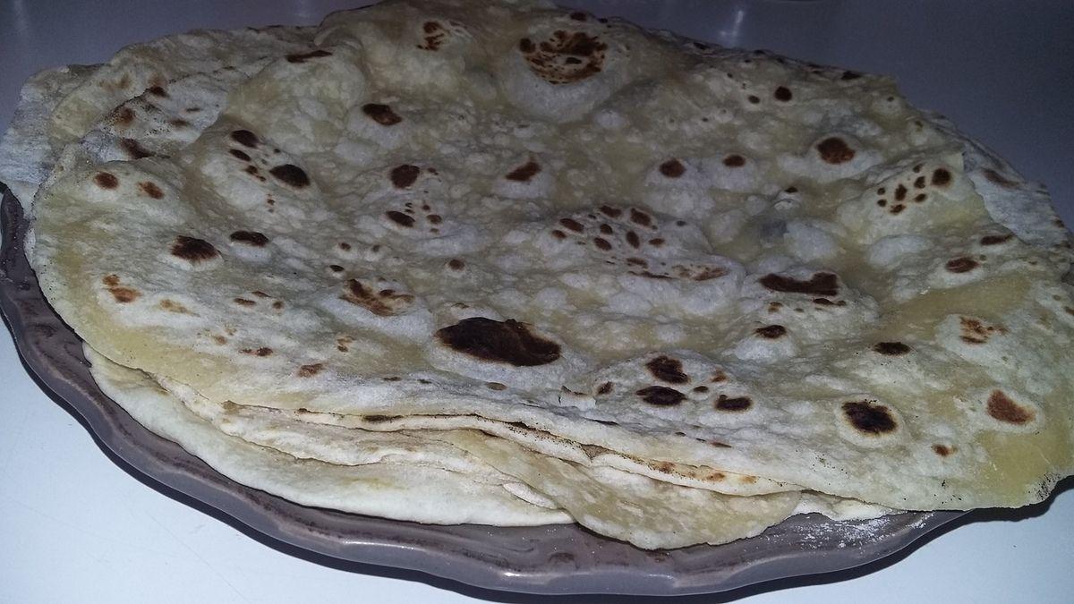 Tortillas maison galettes