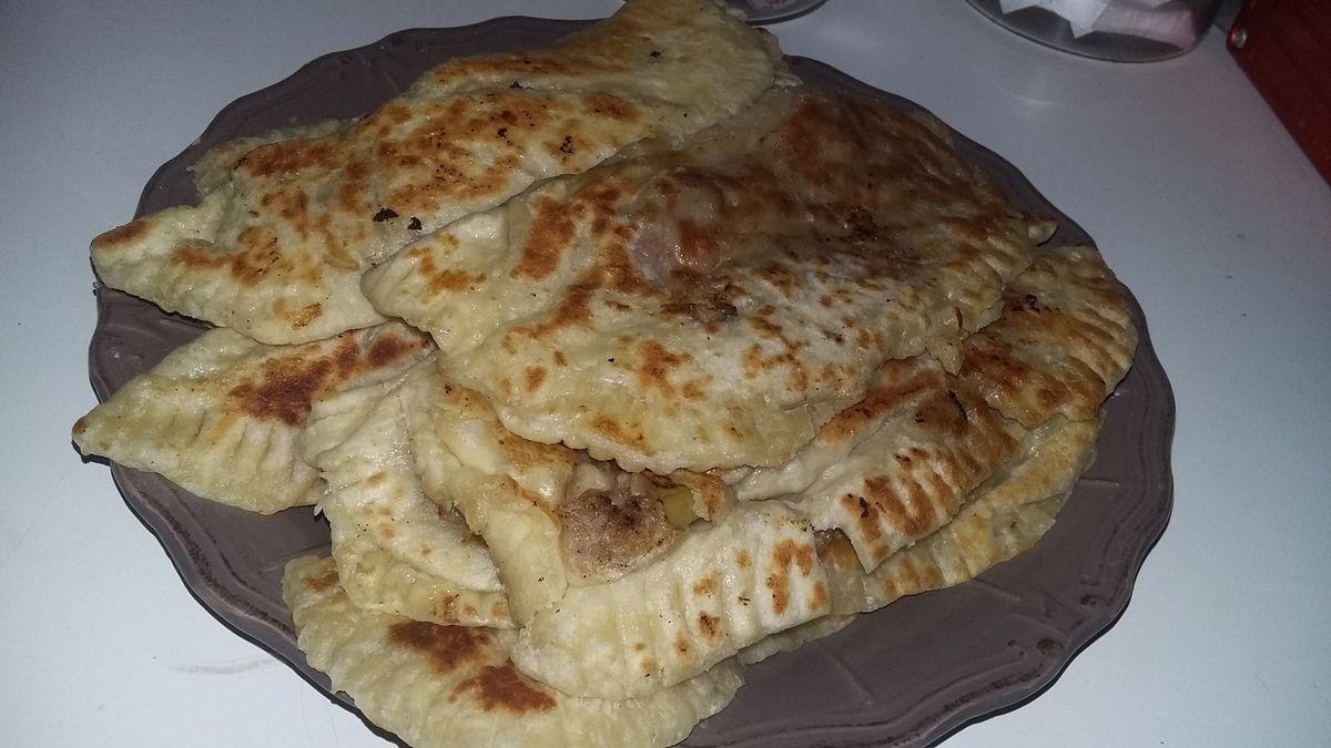 Crêpes turc farcies a la viande