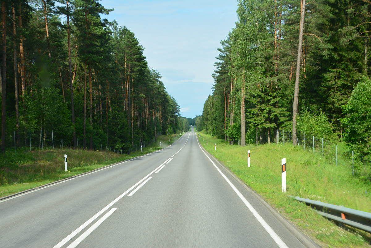 Presque comme en Australie..routes vides