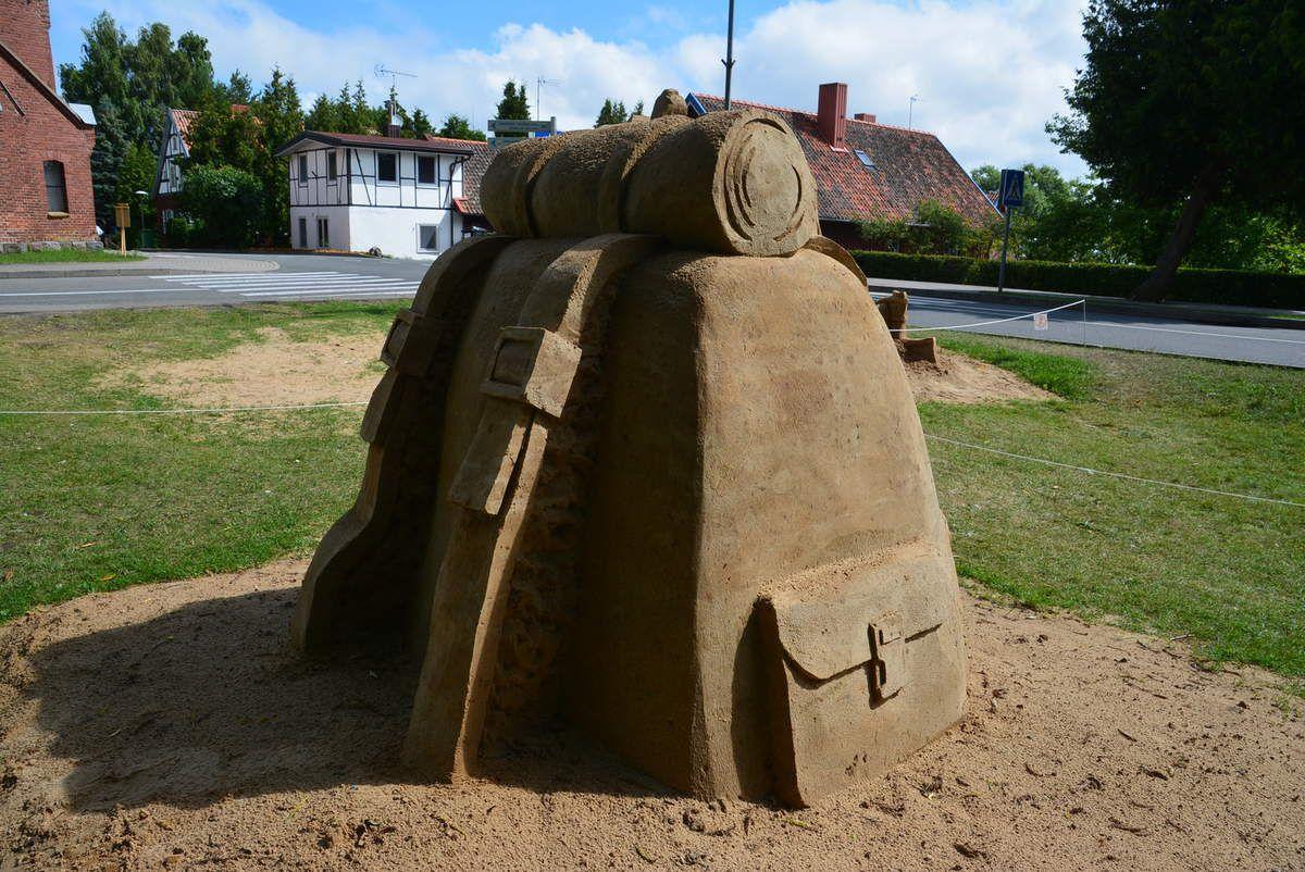 Sculptures de sable, admirez comme moi, les détails!