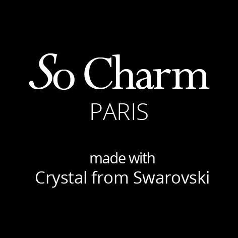 So Charm Paris made with Crystal from Swarovski