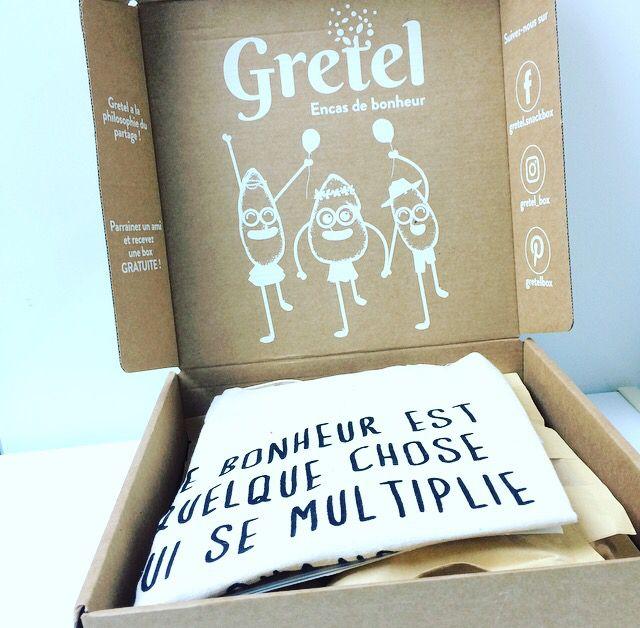 Ma Box Gretel - Des en-cas sains !