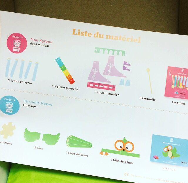 Chouette Box - Box Créative pour les plus petits.