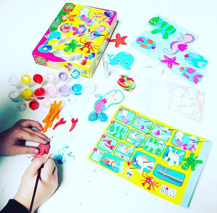 Peindre des Coquillages - SES CREATIVE